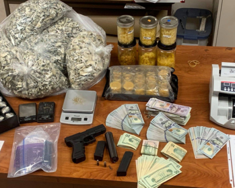 San Mateo traffic stop involving juvenile leads to ample drugs, cash and weapons