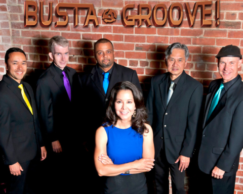 Busta Groove pic courtesy of the band