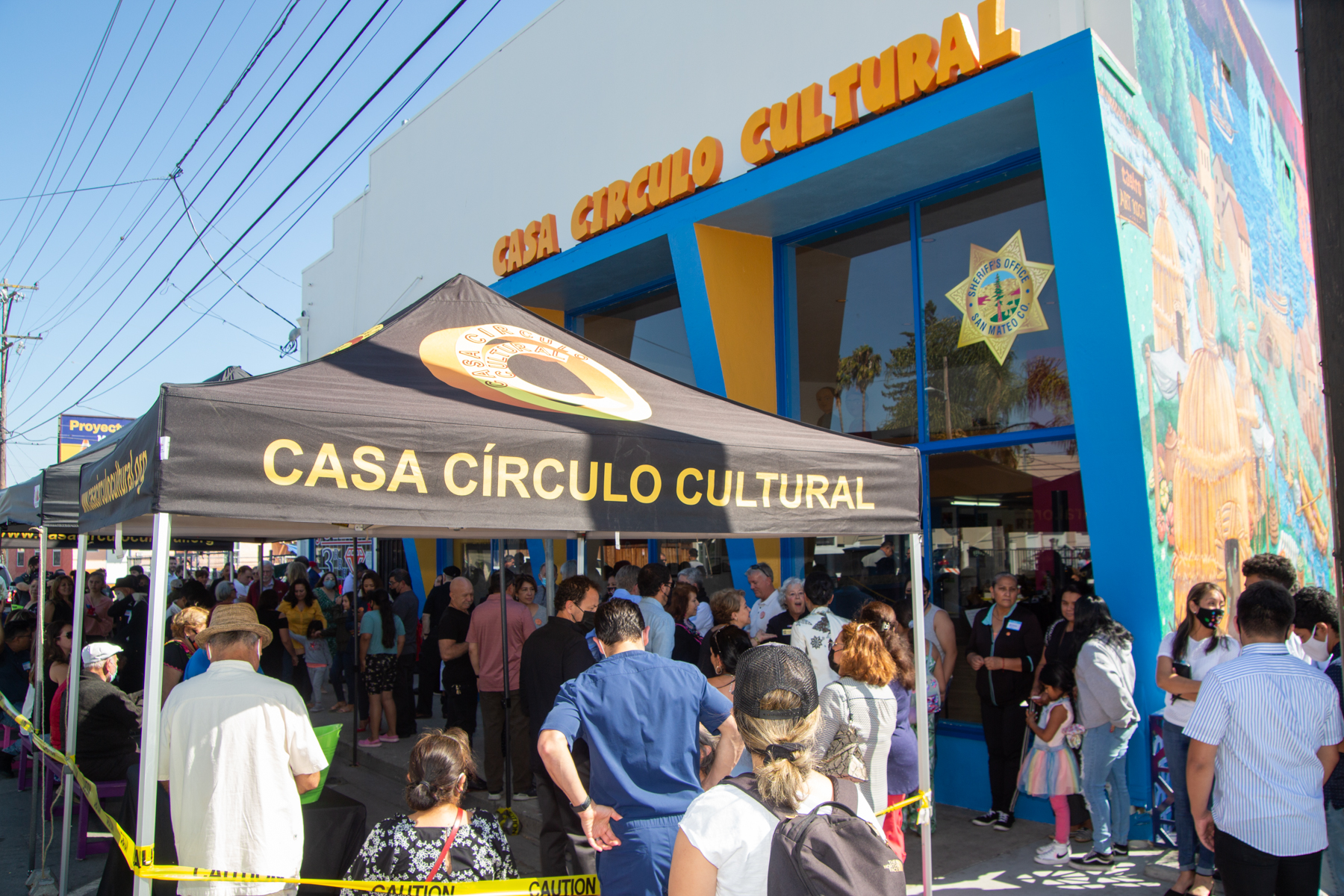 Casa Circulo Cultural cuts the ribbon on new home in Redwood City