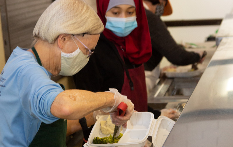 St. Anthony's Padua Dining Room in Menlo Park feeding poor for 47 years