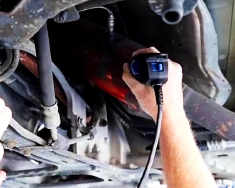 San Mateo County and Jiffy Lube hold 'Etch and Catch' event amid spike in catalytic converter thefts