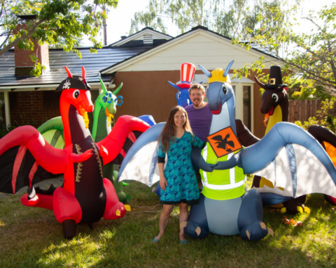 A $1M gift challenge, plus a spirit-lifting gift to neighbors