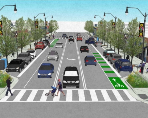 Construction underway on Middlefield Road Improvement Project