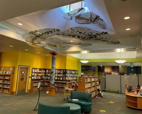 Redwood City Library's art installation celebrates 'mind expanding' power of reading