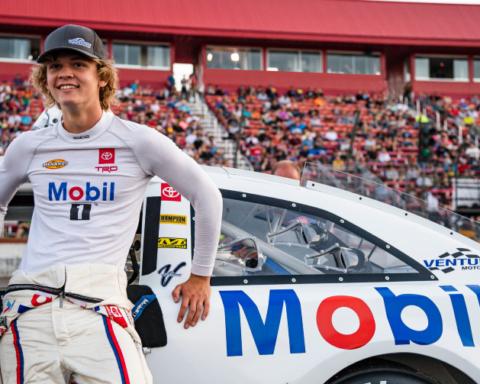 Menlo Park's Jesse Love is pursuing his NASCAR dream