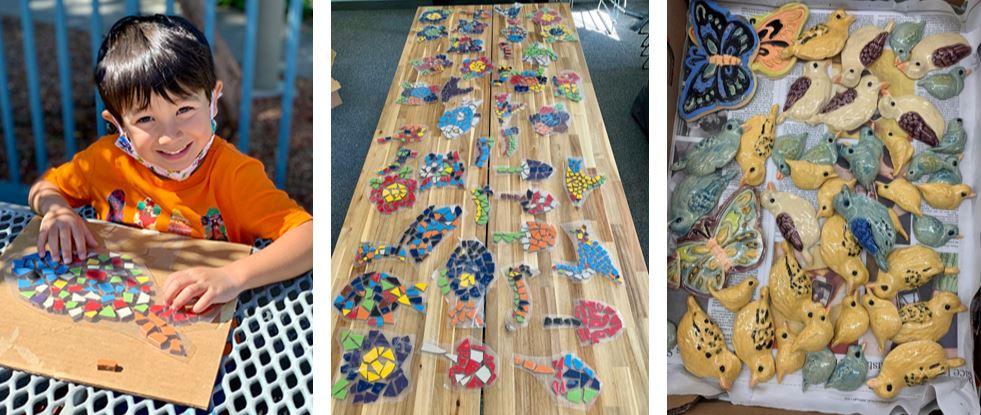 Mosaic installation prompts full, partial Magical Bridge Playground closures