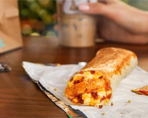 Taco Bell offering free breakfast burritos Thursday morning