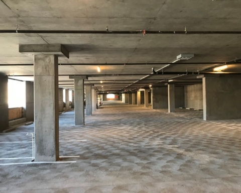 Paint project to shine more light into San Carlos parking garage